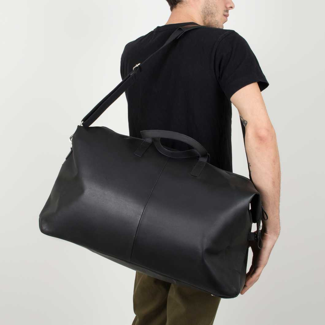 Damien Leather - Black