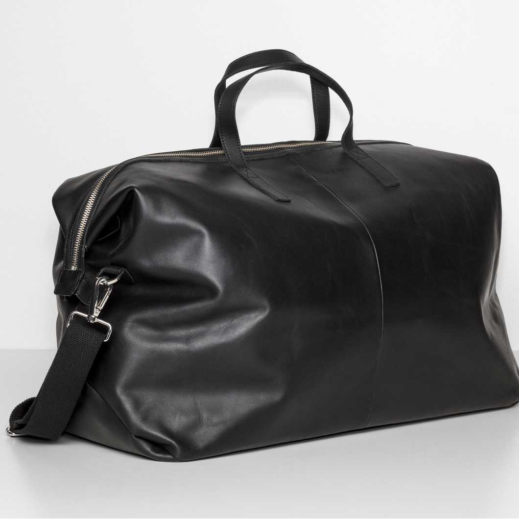 Damien Leather - Black
