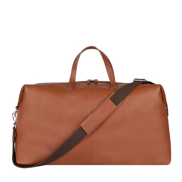 Damien Leather - Cognac Brown