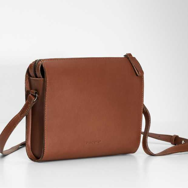 Frances - Cognac Brown
