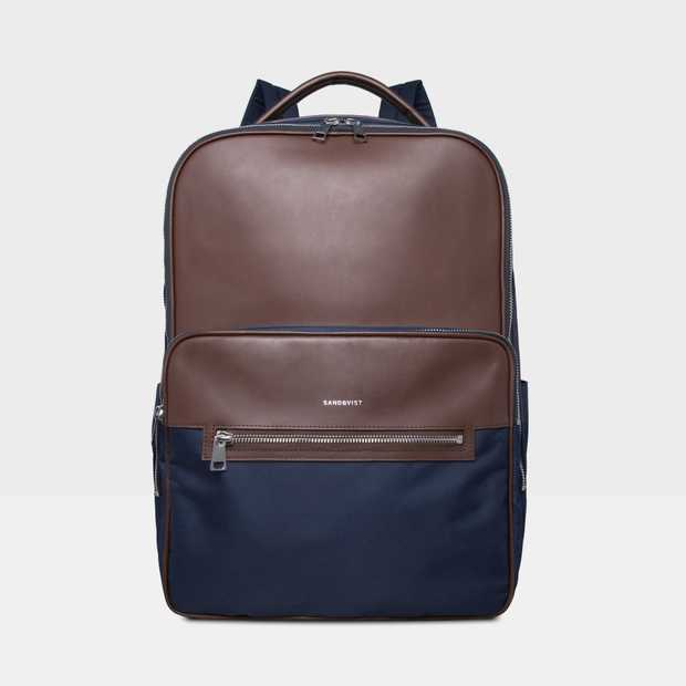 de0a04c2d407 Folke - Navy Backpack