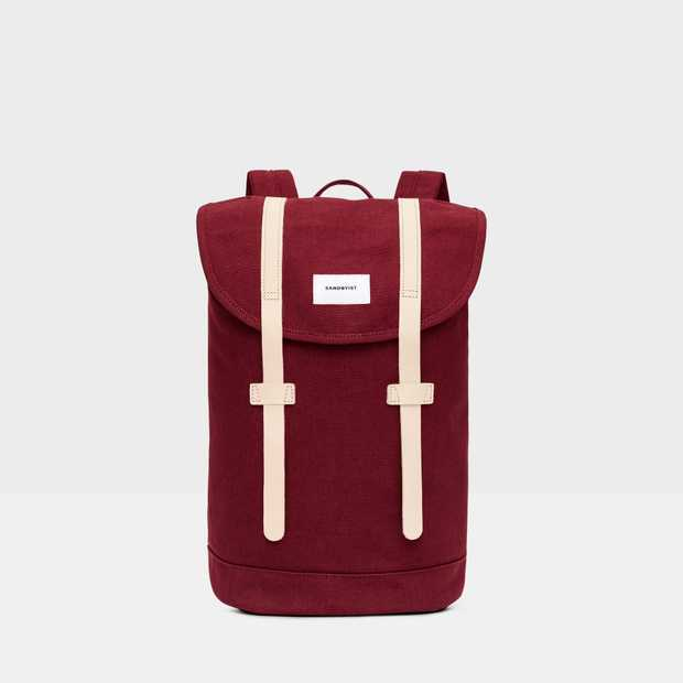 Stig - Burgundy natural leather