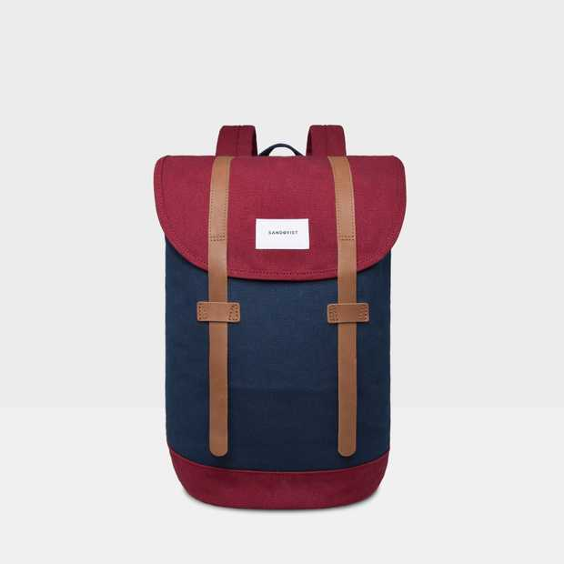 Stig - Multi Blue/ Burgundy