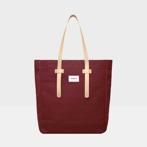 Stig Tote bag - Burgundy