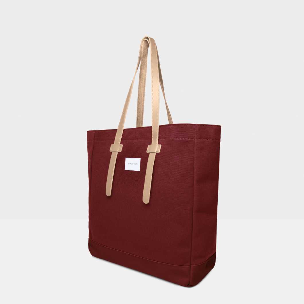 Stig Tote bag - Burgundy