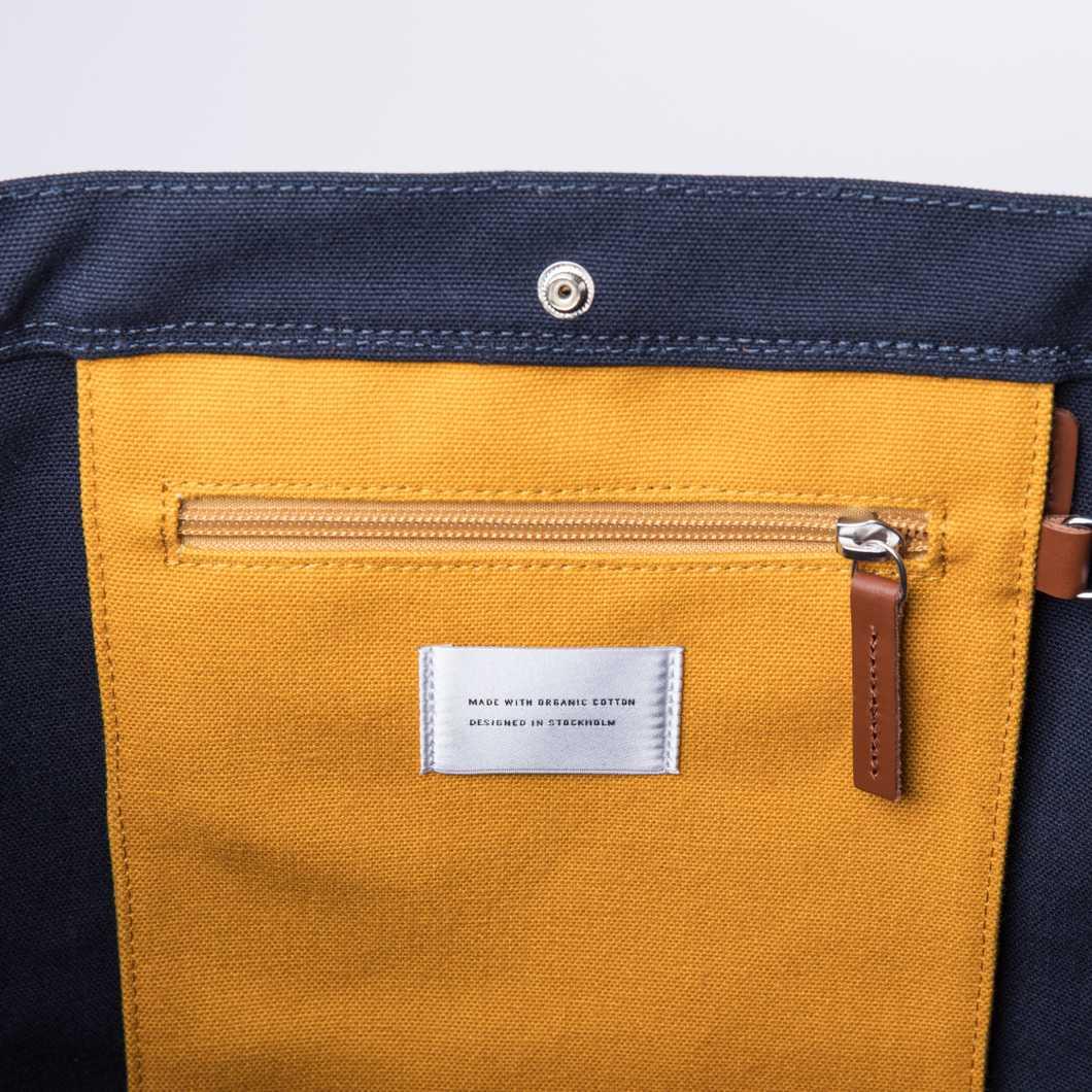 Stig Tote bag - Multi Blue/ Yellow