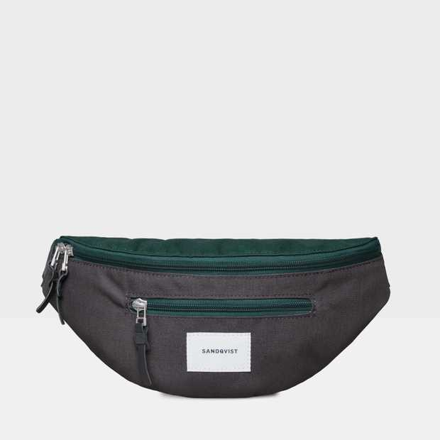 Aste - Multi Deep Green/Dark Grey