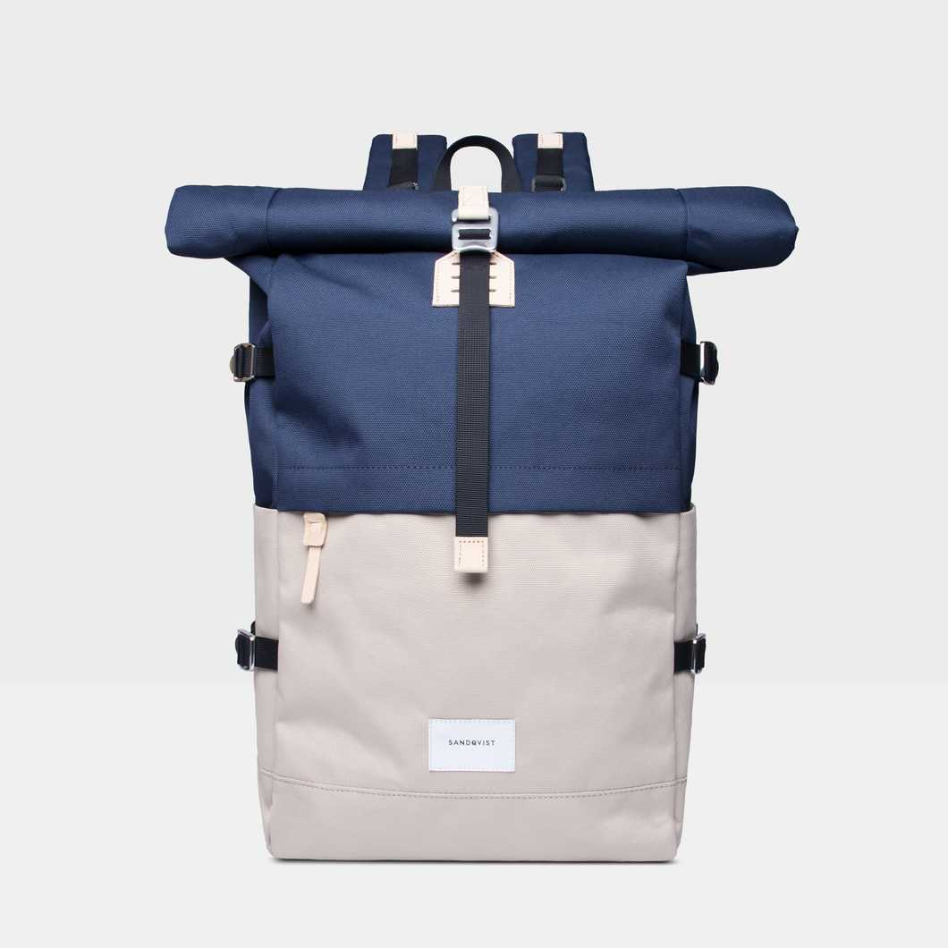 Bernt - Multi Beige/Navy
