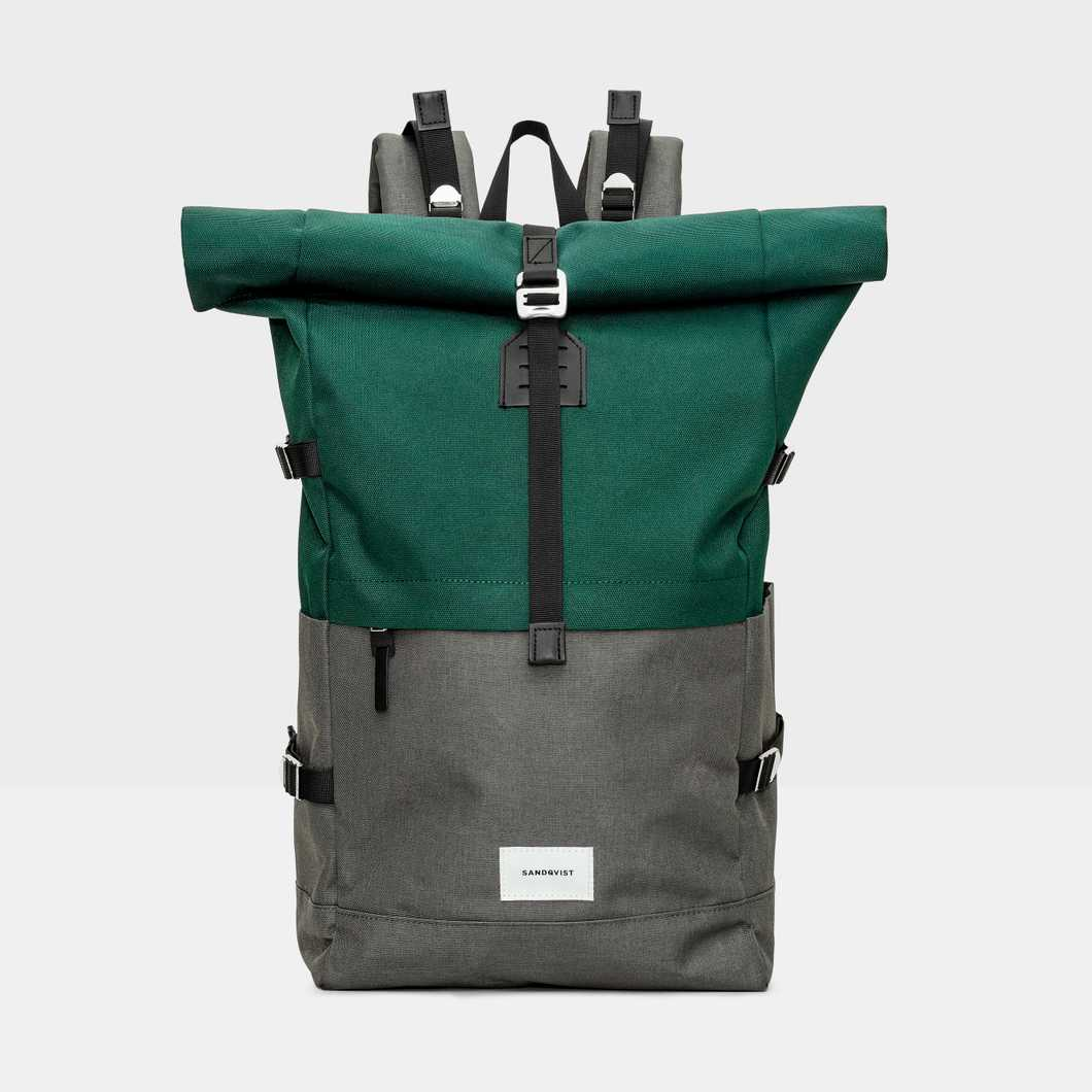 Bernt - Multi Deep Green/Dark Grey