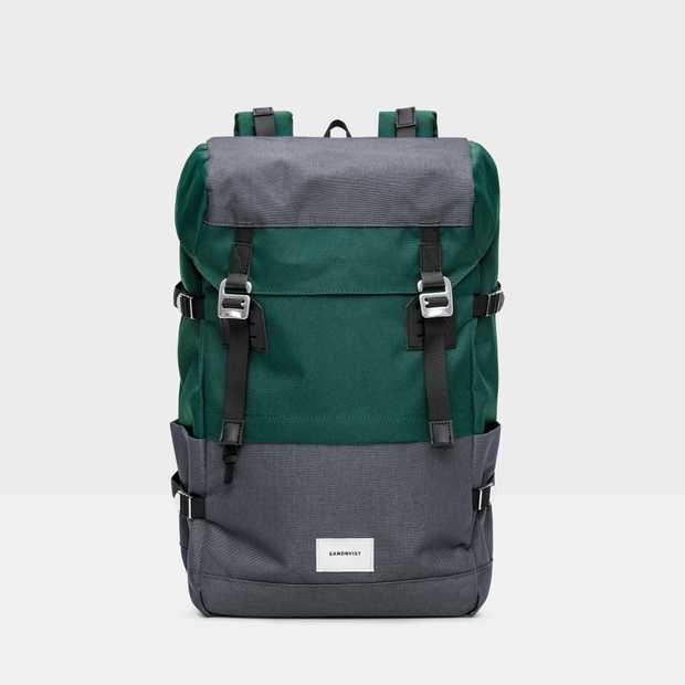 Harald - Multi Deep Green/Dark Grey