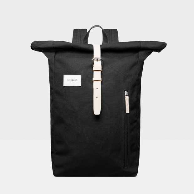 Dante - Black Natural Leather