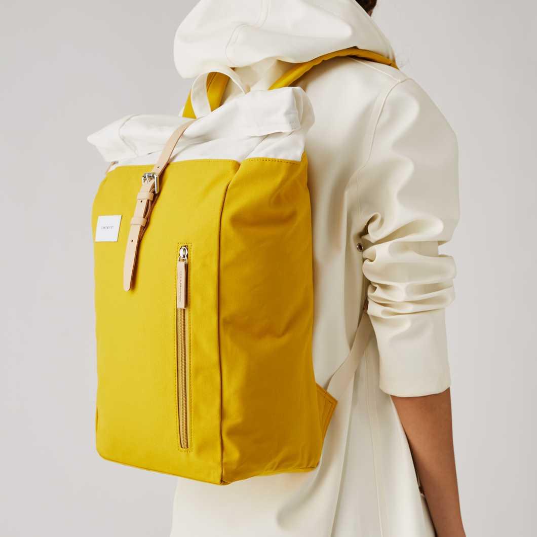 Dante - Multi Yellow / Off White