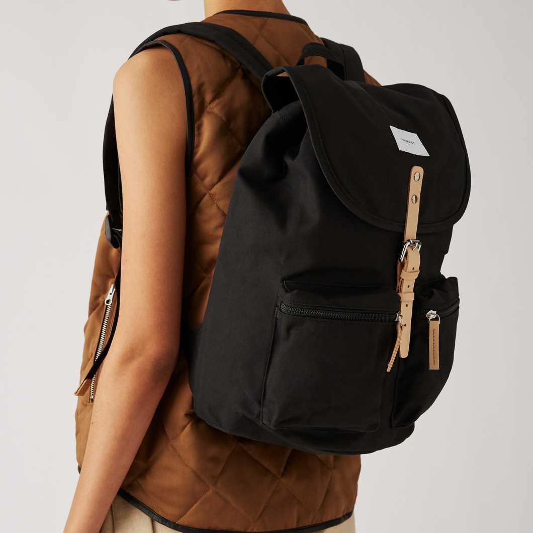 Roald - Black Natural Leather