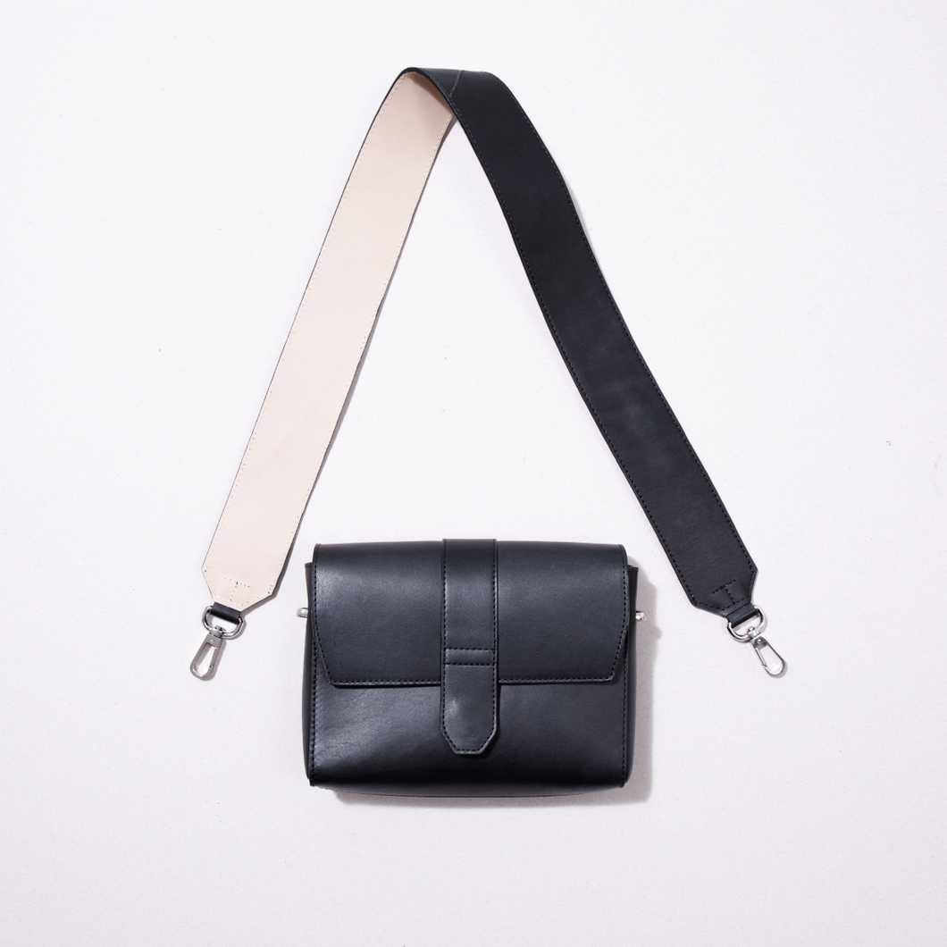 51cb9465d5d91 Buy Black Leather Bag Strap