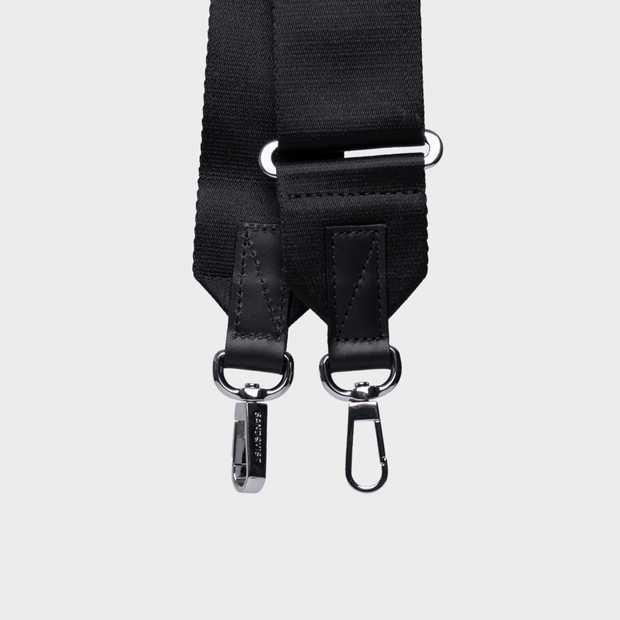 Adjustable Shoulder Strap Webbing - Black