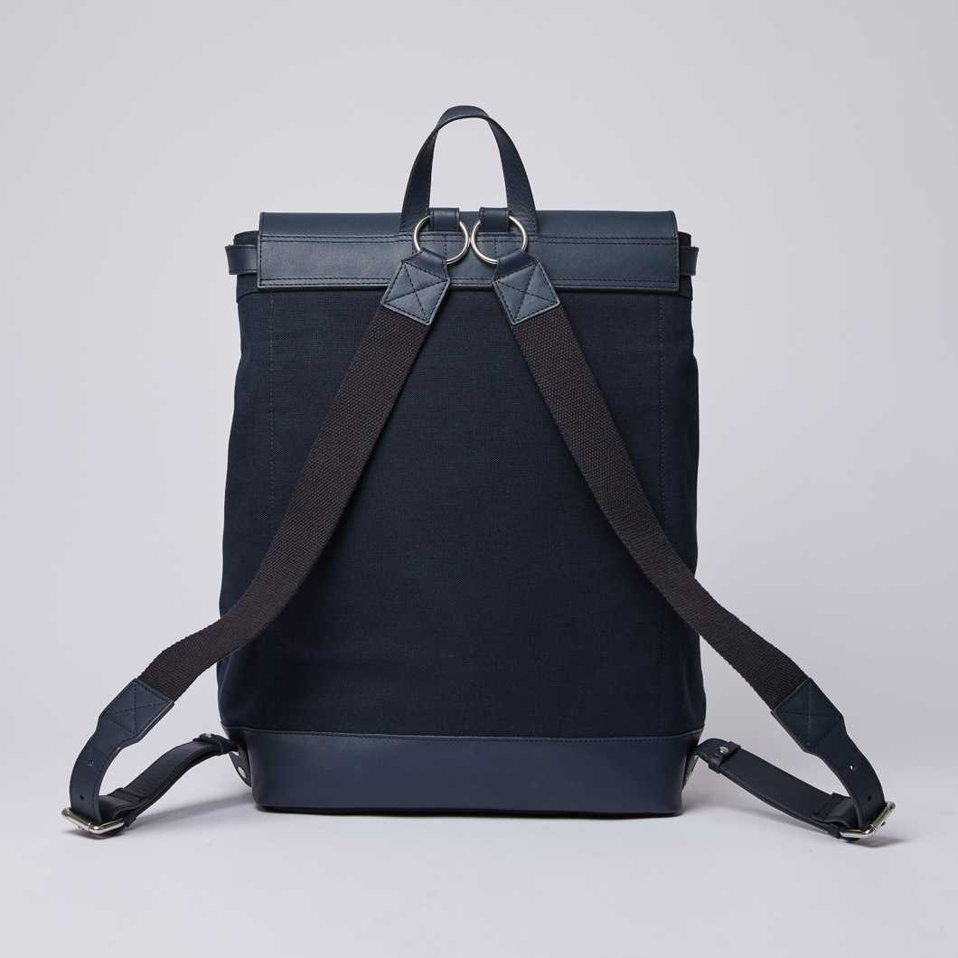 HEGE - Navy with Navy Leather