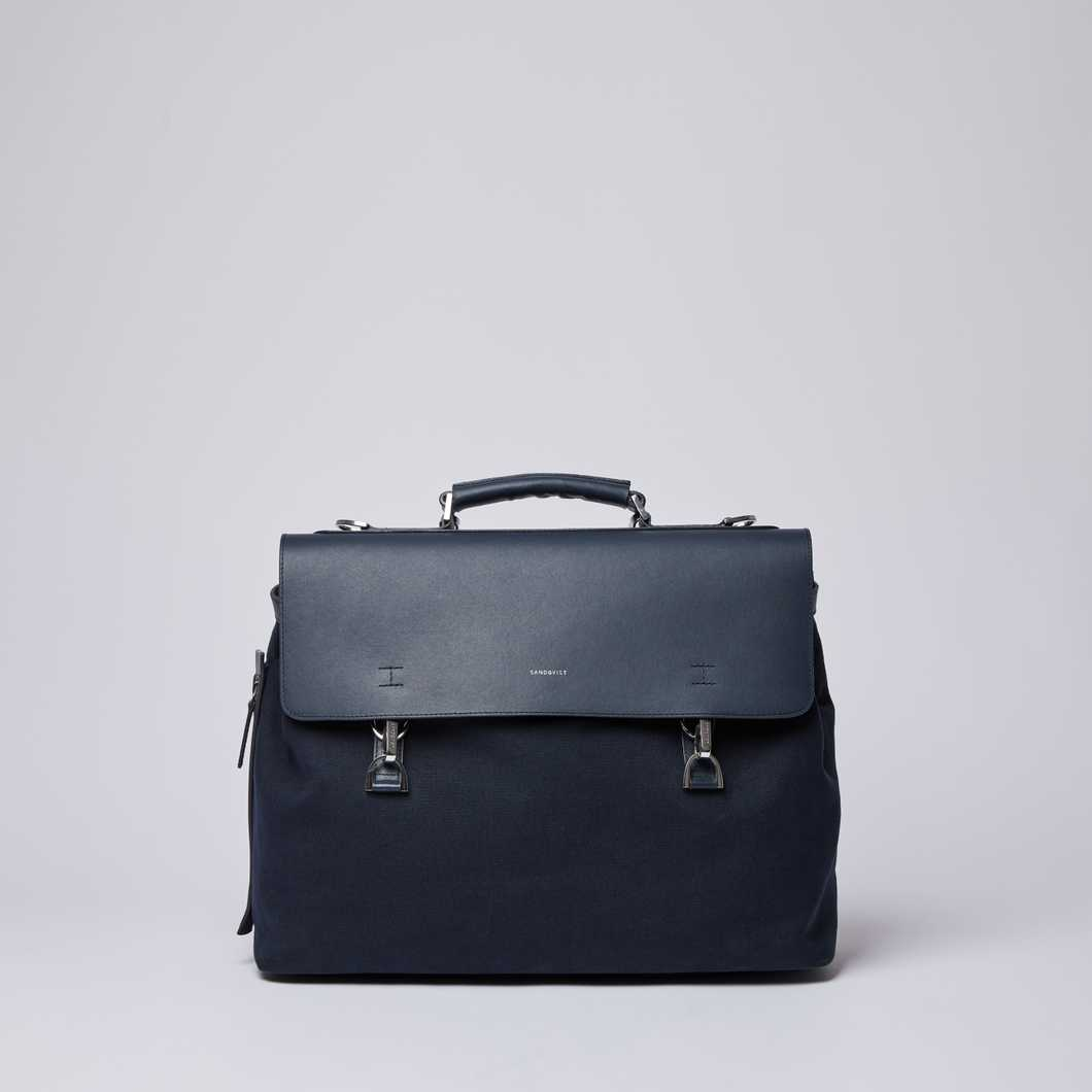 ed96d9a40796 JONES METAL HOOK - Navy with Navy Leather