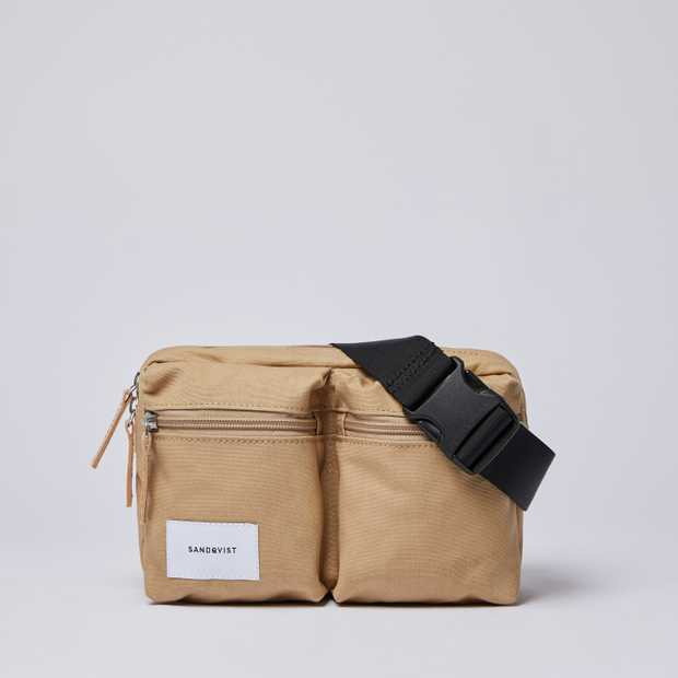 PAUL - Beige with Natural Leather