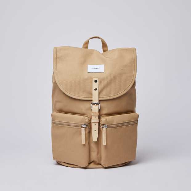 ROALD - Beige with Natural Leather