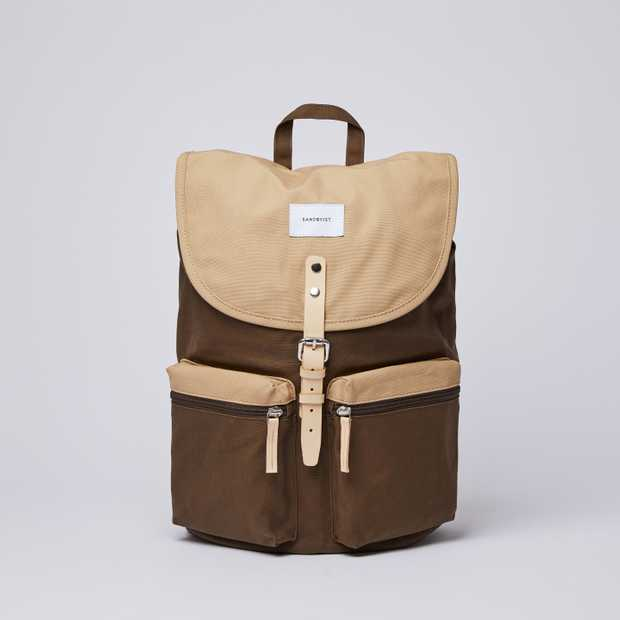 ROALD - Multi Olive / Beige with Natural Leather
