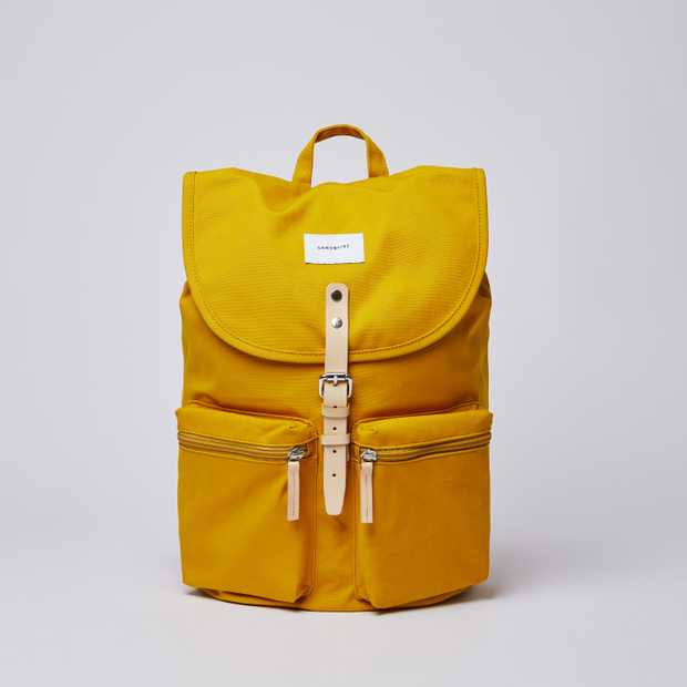 ROALD Yellow with Natural Leather