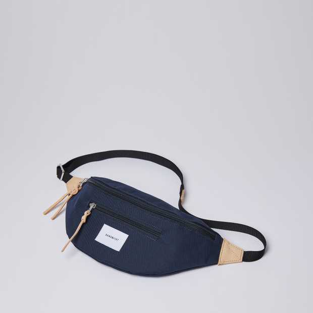 ASTE Navy with Natural Leather