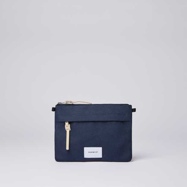 LUDVIG - Navy with Natural Leather