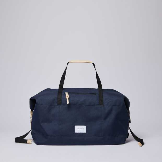 MILTON - Navy with Natural Leather