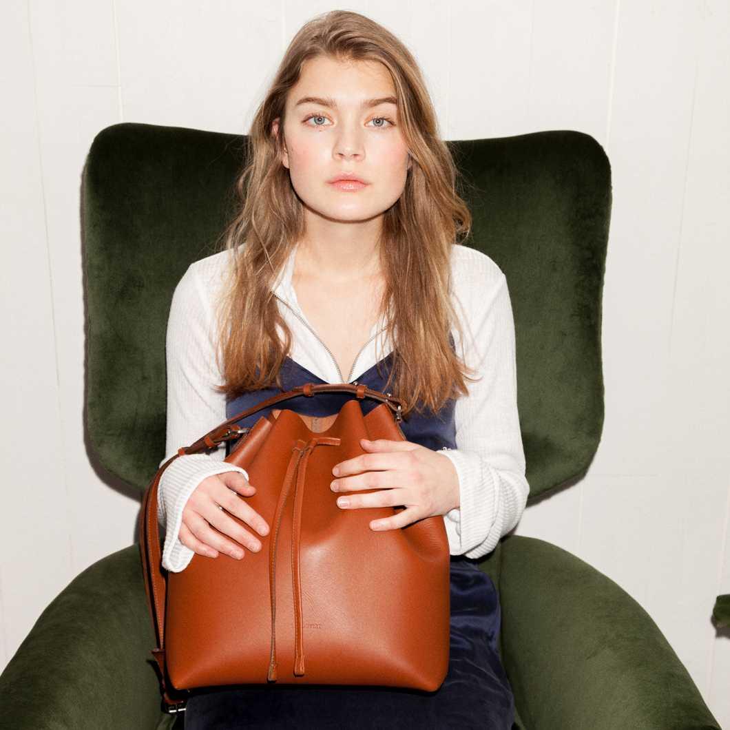 Marianne  - Cognac Brown
